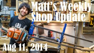 Matt's Weekly Shop Update - Aug 11 2014