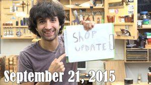 Matt's Weekly Shop Update - Sept 21, 2015