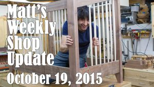 Matt's Weekly Shop Update - Oct 19, 2015