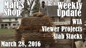 Matt's Weekly Shop Update - March 28, 2016